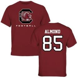 Men's Michael Almond South Carolina Gamecocks Football T-Shirt - Maroon