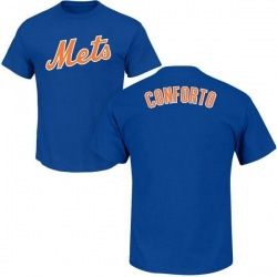Men's Michael Conforto New York Mets Roster Name & Number T-Shirt - Royal
