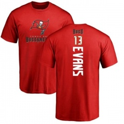 Men's Mike Evans Tampa Bay Buccaneers Backer T-Shirt - Red