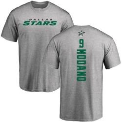 Men's Mike Modano Dallas Stars Backer T-Shirt - Ash
