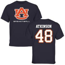 Men's Montavious Atkinson Auburn Tigers Basketball T-Shirt - Navy
