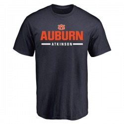 Men's Montavious Atkinson Auburn Tigers Sport Wordmark T-Shirt - Navy