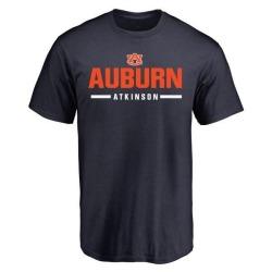 Men's Montavious Atkinson Auburn Tigers Sport Wordmark T-Shirt - Navy