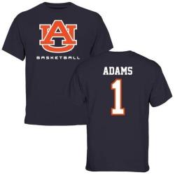Men's Montravius Adams Auburn Tigers Basketball T-Shirt - Navy