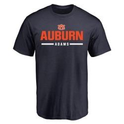 Men's Montravius Adams Auburn Tigers Sport Wordmark T-Shirt - Navy