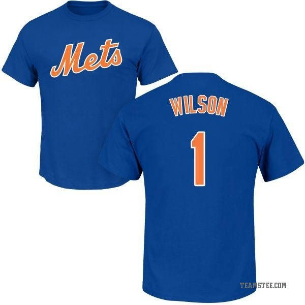 the best attitude 35948 4bf4b Men's Mookie Wilson New York Mets Roster Name & Number T-Shirt - Royal -  Teams Tee