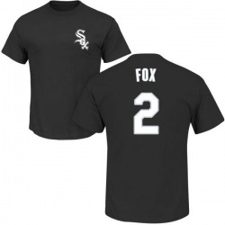 Men's Nellie Fox Chicago White Sox Roster Name & Number T-Shirt - Black