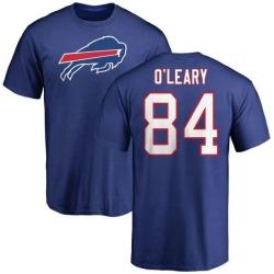 Men's Nick O'Leary Buffalo Bills Name & Number Logo T-Shirt - Royal