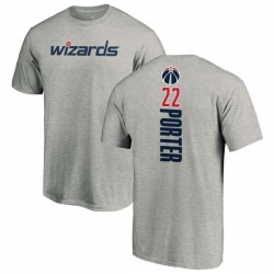 Men's Otto Porter Washington Wizards Ash Backer T-Shirt