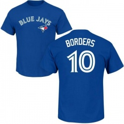 Men's Pat Borders Toronto Blue Jays Roster Name & Number T-Shirt - Royal