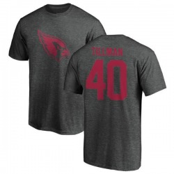 Men's Pat Tillman Arizona Cardinals One Color T-Shirt - Ash
