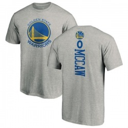 Men's Patrick McCaw Golden State Warriors Ash Backer T-Shirt