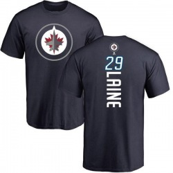 Men's Patrik Laine Winnipeg Jets Backer T-Shirt - Navy