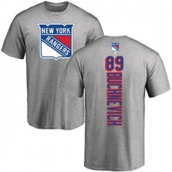 Men's Pavel Buchnevich New York Rangers Backer T-Shirt - Ash