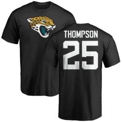 Men's Peyton Thompson Jacksonville Jaguars Name & Number Logo T-Shirt - Black