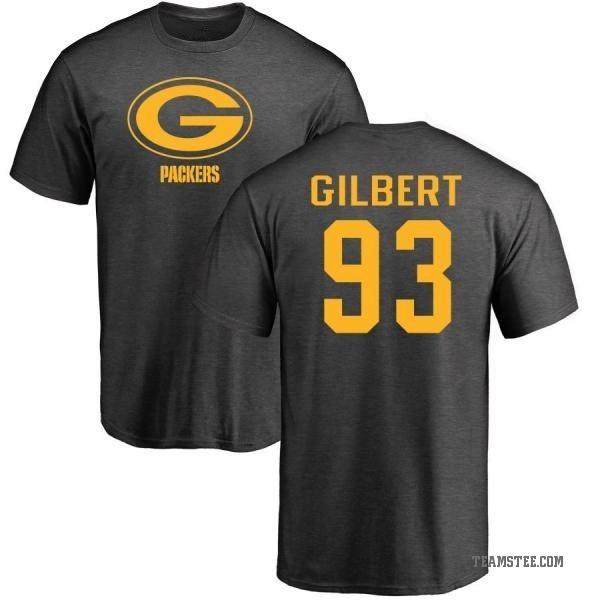innovative design 52540 44079 Men's Reggie Gilbert Green Bay Packers One Color T-Shirt - Ash - Teams Tee