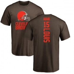 Men's Ricardo Louis Cleveland Browns Backer T-Shirt - Brown