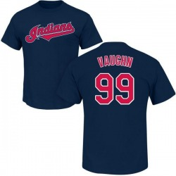 Men's Ricky Vaughn Cleveland Indians Roster Name & Number T-Shirt - Navy