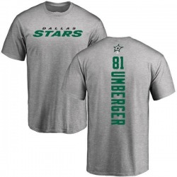 Men's R.J. Umberger Dallas Stars Backer T-Shirt - Ash