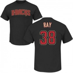 Men's Robbie Ray Arizona Diamondbacks Roster Name & Number T-Shirt - Black