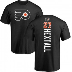 Men's Ron Hextall Philadelphia Flyers Backer T-Shirt - Black
