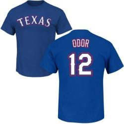 Men's Rougned Odor Texas Rangers Roster Name & Number T-Shirt - Royal