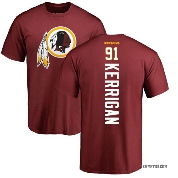 best sneakers bc11d b8ef7 Men's Ryan Kerrigan Washington Redskins Backer T-Shirt - Maroon - Teams Tee