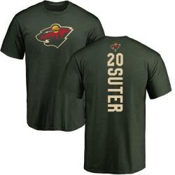 Men's Ryan Suter Minnesota Wild Backer T-Shirt - Green