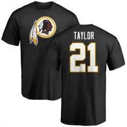 Men's Sean Taylor Washington Redskins Name & Number Logo T-Shirt - Black