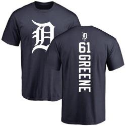 Men's Shane Greene Detroit Tigers Backer T-Shirt - Navy