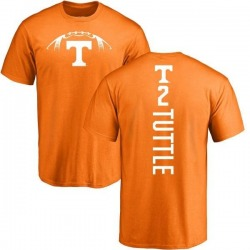 Men's Shy Tuttle Tennessee Volunteers Football Backer T-Shirt - Tennessee Orange