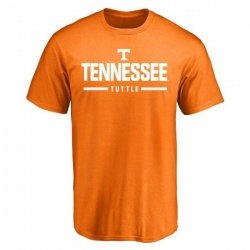 Men's Shy Tuttle Tennessee Volunteers Sport Wordmark T-Shirt - Tennessee Orange