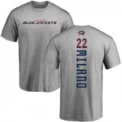 Men's Sonny Milano Columbus Blue Jackets Backer T-Shirt - Ash