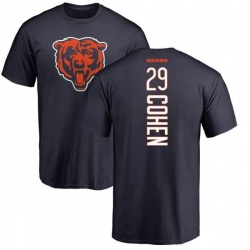 Men's Tarik Cohen Chicago Bears Backer T-Shirt - Navy