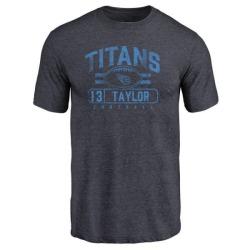 Men's Taywan Taylor Tennessee Titans Flanker Tri-Blend T-Shirt - Navy