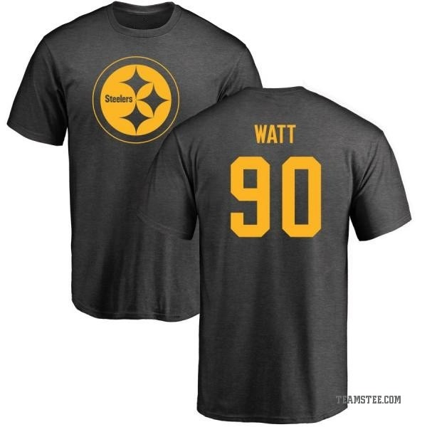 outlet store 1d24a 9ad4b Men's T.J. Watt Pittsburgh Steelers One Color T-Shirt - Ash - Teams Tee
