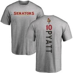 Men's Tom Pyatt Ottawa Senators Backer T-Shirt - Ash