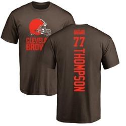 Men's Trenton Thompson Cleveland Browns Backer T-Shirt - Brown