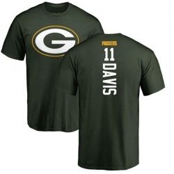Men's Trevor Davis Green Bay Packers Backer T-Shirt - Green