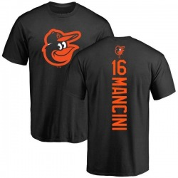 Men's Trey Mancini Baltimore Orioles Backer T-Shirt - Black