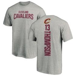 Men's Tristan Thompson Cleveland Cavaliers Ash Backer T-Shirt