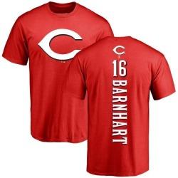 Men's Tucker Barnhart Cincinnati Reds Backer T-Shirt - Red
