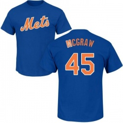 Men's Tug McGraw New York Mets Roster Name & Number T-Shirt - Royal