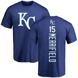 Men's Whit Merrifield Kansas City Royals Backer T-Shirt - Royal