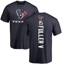 Men's Will Fuller V Houston Texans Backer T-Shirt - Navy