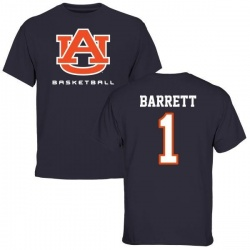 Men's Woody Barrett Auburn Tigers Basketball T-Shirt - Navy