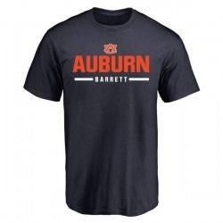 Men's Woody Barrett Auburn Tigers Sport Wordmark T-Shirt - Navy