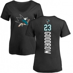Women's Barclay Goodrow San Jose Sharks Backer T-Shirt - Black