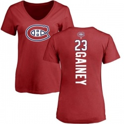 sneakers for cheap 5ac98 781af Men's Bob Gainey Montreal Canadiens Backer T-Shirt - Red ...