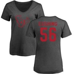 Women's Brian Cushing Houston Texans One Color T-Shirt - Ash